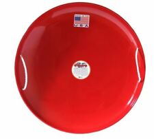 Flexible Flyer Steel Saucer Sled Red Sleds Snow Winter Kids Fast Downhill w NEW