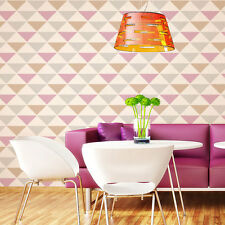 Triad Allover Stencil - SMALL - Geometric Patterns - DIY Home Decor for Walls!