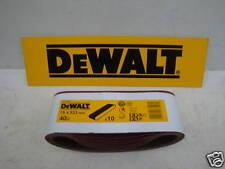 10 X DEWALT DT3301 75MM X 533MM BELT SANDER SANDING BELTS 40GRIT