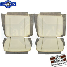 62-65 GM A, X & B Body Front Bucket Seat Foam Buns Pair PUI New