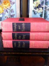 3 Books The Second World War By Winston Church Hill 1953 Houghton Mifflin Co.