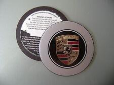 Magnetic Tax disc holder fits porsche panamera gt 911 boxster cayman cayenne pra