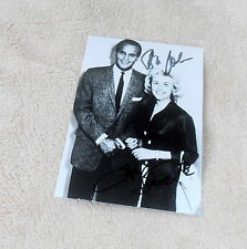 Harry Belafonte & Bibi Johns, original signiertes/signed Foto in 10x15 cm, RAR