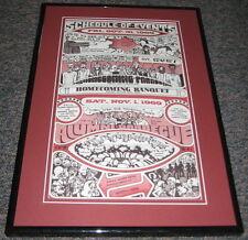 1969 South Carolina Gamecocks Homecoming Framed 10x15 Poster Reproduction