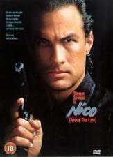 Nico - Above The Law Dvd Steven Seagal Brand New & Factory Sealed