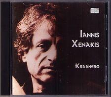 Iannis xenakis 1922-2001 kraanerg musique de ballet winterson Col Legno CD 2003