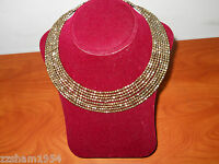 charming CHARLIE Collar necklace simple & elegant style Gold Color metal $ 14.97