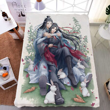 Anime Grandmaster of Demonic Cultivation Bed sheet Blanket Bedding 1.5X2M #N65