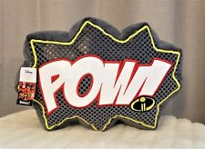 Disney Pixar Jumping Beans POW Kids' Decorative Throw Pillow Incredibles 2