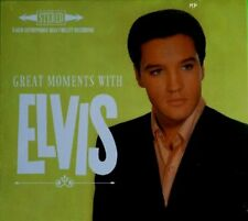 Elvis PRESLEY CD Great Moments with Elvis-DIGIPACK-NUOVO