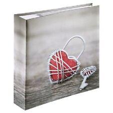 Hama Rustico - Photo Albums (rosso Bianco Grigio)