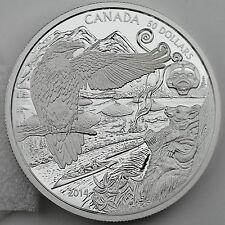 Canada 2014 $50 Aboriginal Legend of the Spirit Bear 5 oz. Pure Silver Proof