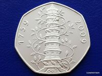 (See Details) 2009 Kew Gardens  Proof  Collectable  Souvenir Coin Rare 50p Sale