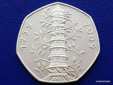 (See Details) Souvenir Coin 2009 Kew Gardens  Proof  Collectable   Rare 50p Sale
