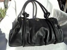 Lodis Audrey Black 8215AU Puffy Handbag