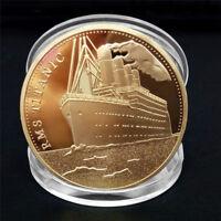 Titanic Schiff Sammlerstück BTC Münzsammlung Kunst Geschenk physisch CBL