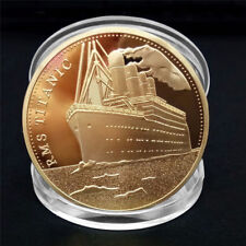 Titanic Ship  Collectible BTC Coin Collection Arts Bitcoin Gift Physical HI
