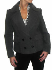 Unbranded Grey Wool Outer Shell Coats, Jackets & Waistcoats for Women