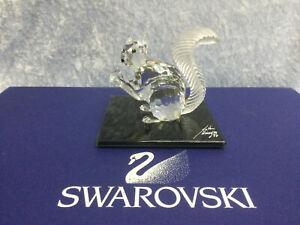 Swarovski SCS 10th Anniversary Squirrel 7400097001 208433. Closed 1997. MIB+COA