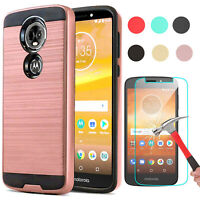 For Motorola Moto E5 Plus/Supra/Play/Cruise Phone Case Cover +Screen Protector