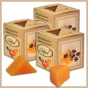 3 x Duftwachs Orange & Zimt | Aroma Duftkerze Schmelzwachs Wax Aromatic
