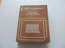Oldsmobile cutless Delta 88 Custom Cruiser 98 Toronado service manual