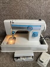 New Listingstretch Stitch Button Hole Blind Stitch Sewing Machine Made In Japan Model 7200