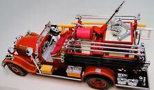 Fire Engine Ford Truck Vintage Antique 1930s A 1 T Metal Model 24 Pickup Car 18