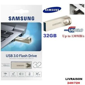 Cle Usb 3.0 Samsung Memory Flash Drive SAMSUNG BAR 32 GO