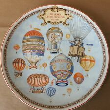 Wedgewood Collectors Plate 200 Years of ballooning 1783-1983