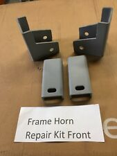 Early Bronco Frame Horn Repair Kit 66-77  Front Only Ford 3/16 Steel New