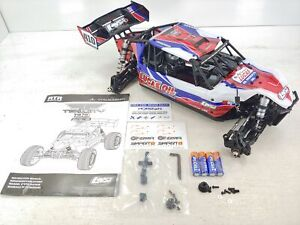 NEW: Losi Tenacity DB PRO 1/10 4wd Buggy Roller Slider Chassis w/ Cage/Body/LEDs