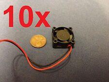 10 Pieces 2510S 5V Cooler Brushless DC Fan 25 10mm Mini Cooling Radiator E0Xc b9