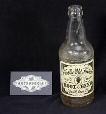 Vintage 1955 Owens Illinois Frostie Old Fashion Root Beer 12oz Soda Bottle - #6