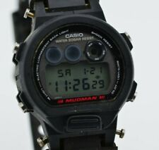 I084 Vintage Casio Mudman G-Shock Digital Quartz Watch DW-8400 MOD.1289 35.4