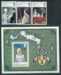 TURKS & CAICOS ISLANDS 321-433 SG472-MS600 MNH 1977-80 3sets,7MS,1booklet Cat$17