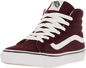 Vans Sk8-Hi Slim Windsor Sneaker (Wine, Size 7.5 Men's/9 Women's US) VN00018IJMA