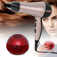 SET OF PROFESSIONAL ROSE GOLD HAIR DRYER 2200W AND NAIL DRYER HEAT BLOW POLISH