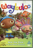 WAYBULOO DVD - NOK TOK ROCK & FIVE OTHER STORIES - AS SEEN ON CBEEBIES (KIDS)