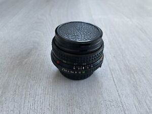 MINOLTA MD mount ROKKOR 45mm f2 Pancake MF Camera Prime LensUSED