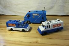 3 Vintage SWAT Vehicles from 1970's