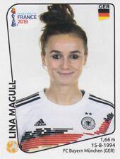 Panini Sticker Frauen Fußball WM 2019 Nr. 113 Lina Magull GER Germany NEU Bild