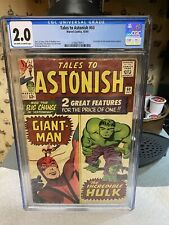 TALES TO ASTONISH #60 CGC 2.0 1st App of The BEASTS of BERLIN..UNRESTORED