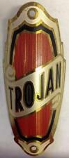 antique Nos Trojan bicycle Head Badge tag emblem