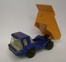 1975 Lesney Matchbox No.23 Atlas Dump Truck in Blue and Yellow