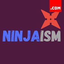 Ninjaism.com - 1 Word Domain - Short Domain Name - Catchy Name .COM Dynadot