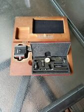 Starrett 657 Magnetic Base With Last Word Starrett 711 Indicator Machinist Tools