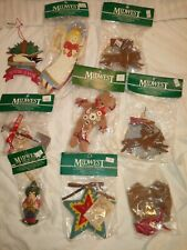 Vintage Christmas Decorations Nos lot Of 9 Midwest Of Cannon Falls Free Shipping