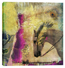 "Epic Graffiti ""White Horse"" by Elena Ray Giclee Canvas Wall Art, 37"" x 37"""