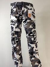 Men's FOCUS Army Camo Cargo Pants Sizes: 32 TO 44